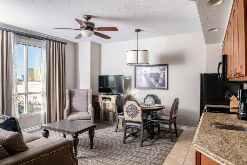 Zona de estar de Club Wyndham Grand Desert