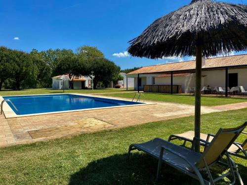 The swimming pool at or near Herdade Moita Mar - Country & Sea