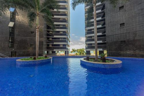 The swimming pool at or close to Apartamento 1206-D Landscape Beira Mar Fortaleza