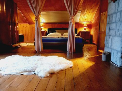 A bed or beds in a room at Holiday Home Nature Neno