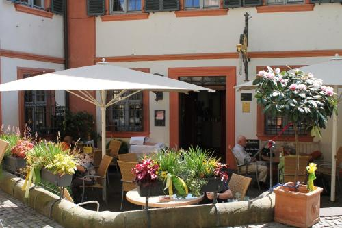 A restaurant or other place to eat at Hotel Brudermühle