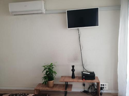 A television and/or entertainment centre at COSY studio