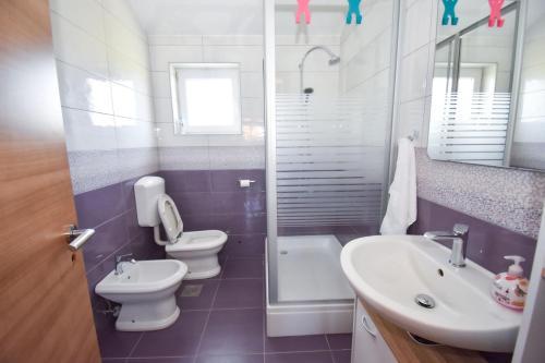 A bathroom at Apartment ViP