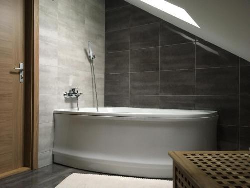 Koupelna v ubytování Apartments Villa Viola