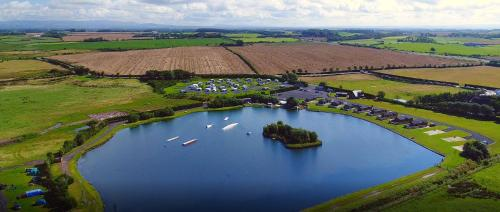 A bird's-eye view of Ream Hills Holiday Park