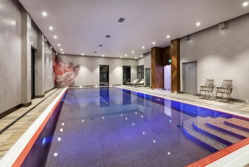 The swimming pool at or near Hotel Sadova