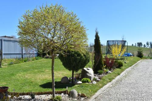 Vonkajšia záhrada v ubytovaní Penzión High Tatras