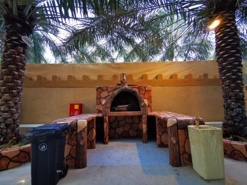 Banquet facilities at the villa