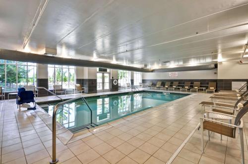 The swimming pool at or near Hyatt House Atlanta Cobb Galleria