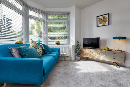 A seating area at Coppergate Mews Apartment 2