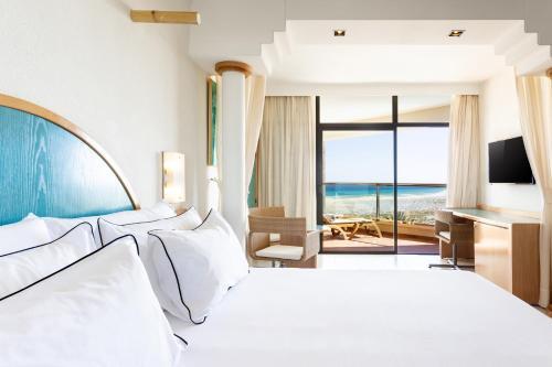 Cama o camas de una habitación en Meliá Fuerteventura