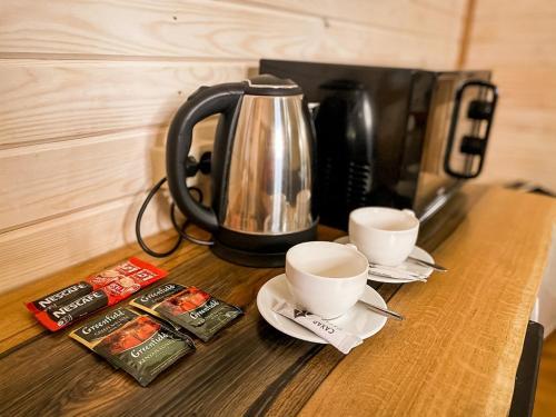 Принадлежности для чая и кофе в База Отдыха Бабин Двор