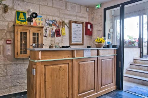 Lobby/Rezeption in der Unterkunft Hôtel La Muette