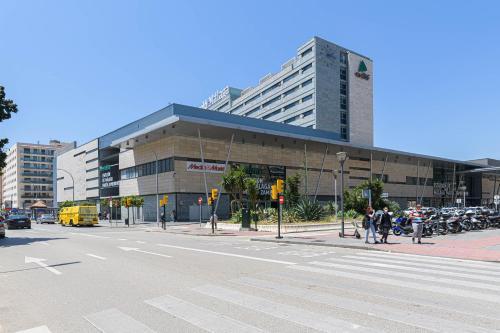 Het gebouw waarin het appartement zich bevindt