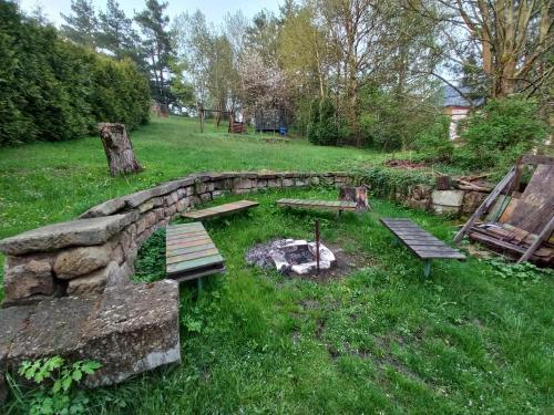 Сад в Penzionek U Františka