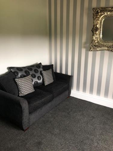 A seating area at The Vine Hotel, Skegness