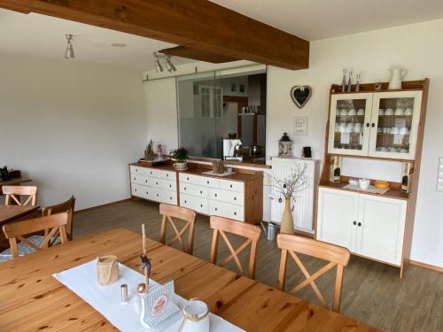 Küche/Küchenzeile in der Unterkunft Landhaus Klopein