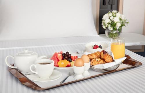 Breakfast options available to guests at Hyatt Regency Sydney