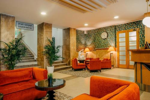 The lobby or reception area at Metropolitan Old Town Hotel - Czech Leading Hotels