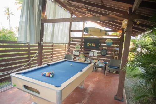Ein Billardtisch in der Unterkunft 21 Palms