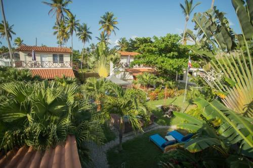 Ein Blick auf den Pool von der Unterkunft 21 Palms oder aus der Nähe