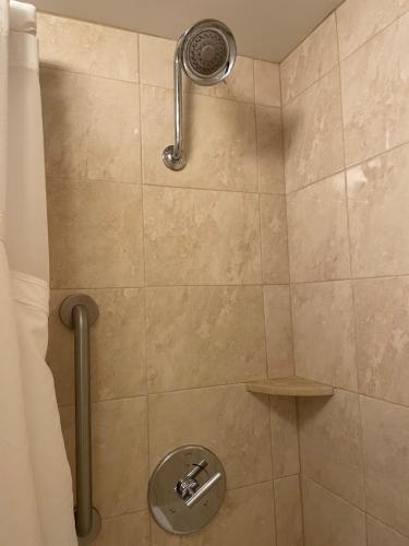 A bathroom at Holiday Inn Charlotte Center City, an IHG Hotel