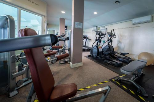 The fitness center and/or fitness facilities at Hall Garth Hotel; BW Signature Collection