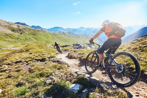 Radfahren an der Unterkunft Hotel Garni Passeier oder in der Nähe