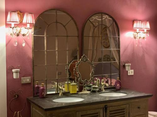 A bathroom at Il Giardino Segreto Arona