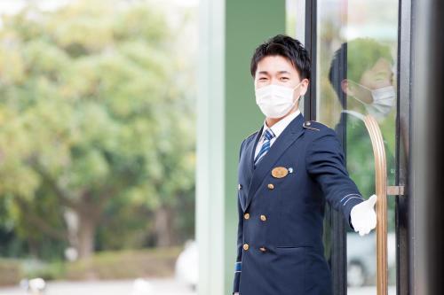 Staff members at Hotel Okura Tokyo Bay