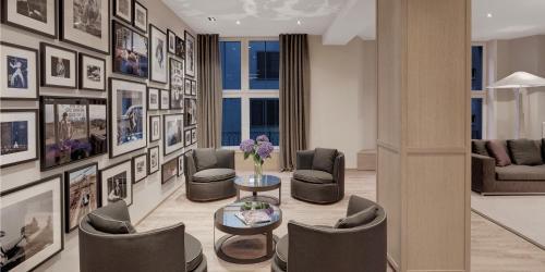 Zona de estar de Boutique Hotel Wellenberg