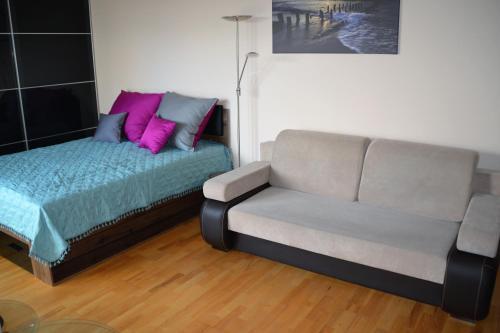 Część wypoczynkowa w obiekcie Apartament 40 Sun & Rain Villa Nord