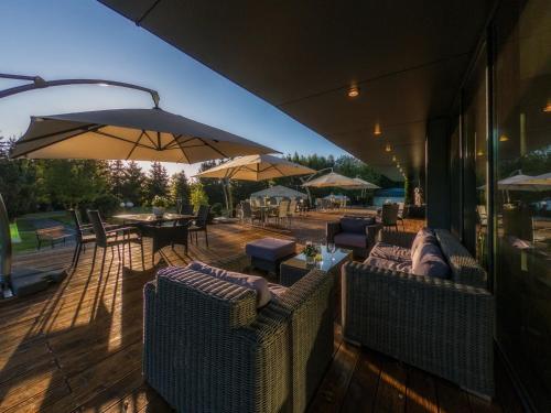 Restauracja lub miejsce do jedzenia w obiekcie Hotel HP Park