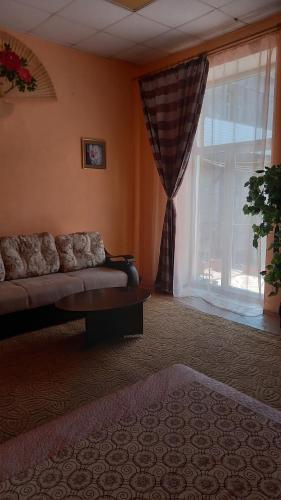 Apartment on Svetlanskaya 7にあるシーティングエリア