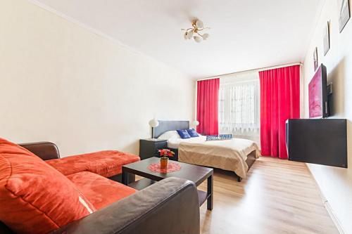 Гостиная зона в Apartment Hanaka Kluchevaya 20