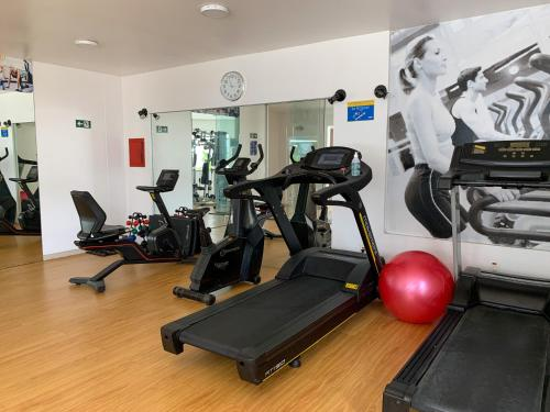 The fitness center and/or fitness facilities at Hotel Saint Paul