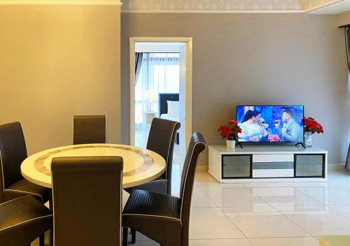 A television and/or entertainment centre at Eastern Suites @ Times Square KL