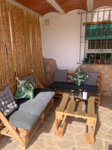 Zona de estar de Casa Rural Cortijo El Helao
