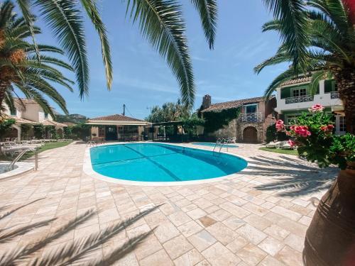 The swimming pool at or close to Valentino Corfu