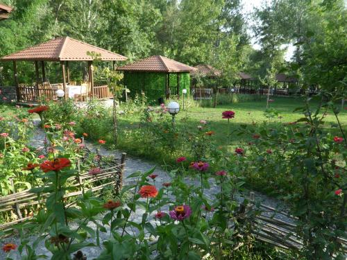 Um jardim em Golden Horse Riding Center