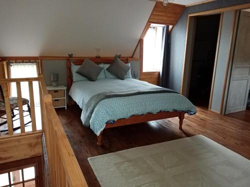Un ou plusieurs lits dans un hébergement de l'établissement Bocage Bed & Breakfast