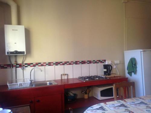 Una televisión o centro de entretenimiento en Departamento Barros Borgoño