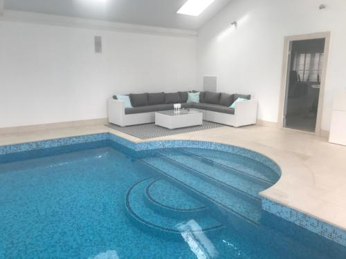 The swimming pool at or near The Annexe, Annables Lane, Harpenden