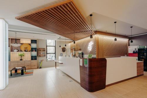 Lobby alebo recepcia v ubytovaní Holiday Inn Trnava, an IHG Hotel