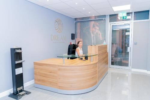 The lobby or reception area at Dream Apartments Middlesbrough
