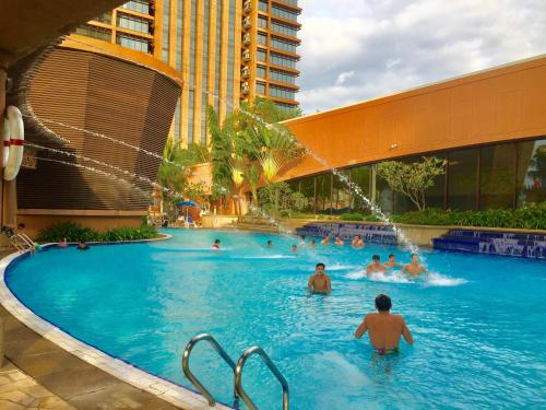 The swimming pool at or close to Universal Times Suites At Times Square