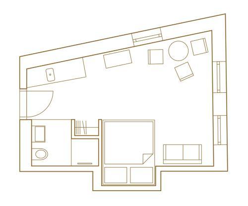 Grundriss der Unterkunft pradl elf my- apartment
