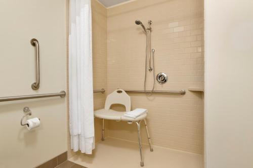 A bathroom at Candlewood Suites Vestal - Binghamton, an IHG Hotel