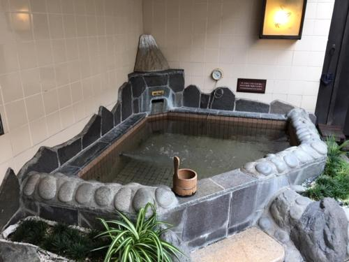 The swimming pool at or close to Dormy Inn Global Cabin Asakusa