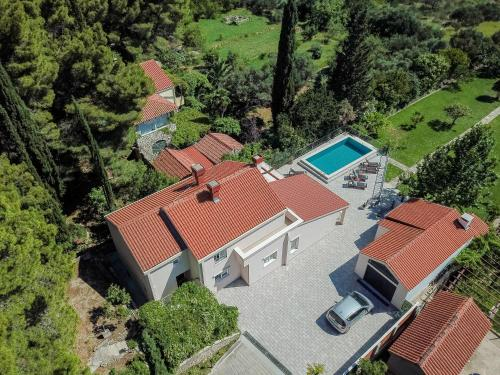 A bird's-eye view of Luxury Vila Divina-Exceptional privacy